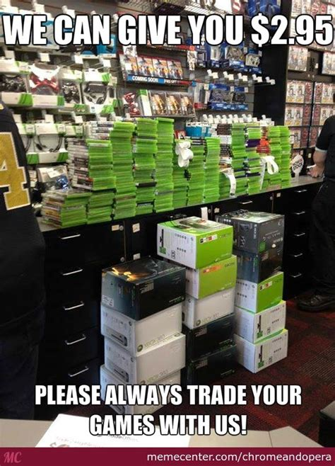 Gamestop Memes - gamestop return price by chromeandopera meme center