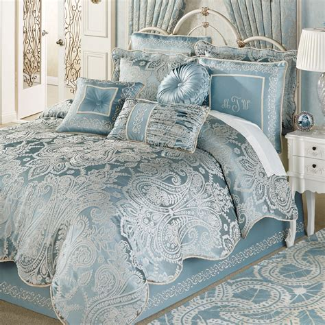 comforters and comforter sets touch of class regency set parisian blue idolza