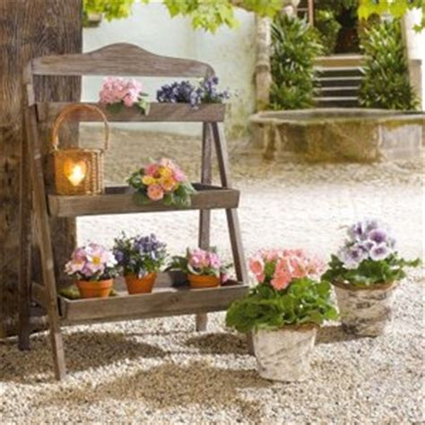 amazoncom outdoor wooden plant stand plant stand
