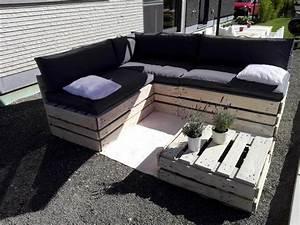 Lounge Sofa Outdoor : diy pallet lounge furniture set 101 pallet ideas ~ Frokenaadalensverden.com Haus und Dekorationen