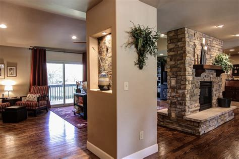At The Pinery In Parker, Co. Kitchen And Fireplace Remodel