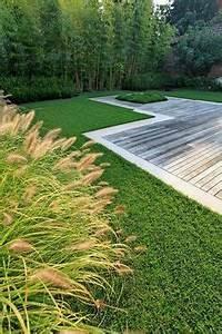 terrasse en ipe realisee en bordure de margelle en pierre With allee de jardin en pierre 0 amenagement exterieur les pierres et leur rale dans le jardin