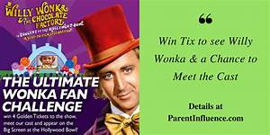 Win Tix to see Willy Wonka & a Chance to Meet the Cast # ...