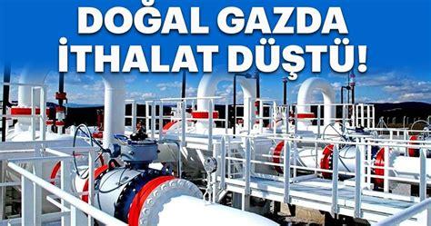 Doğal Gaz Ithalatı Ekimde Yüzde 10,4 Azaldı!