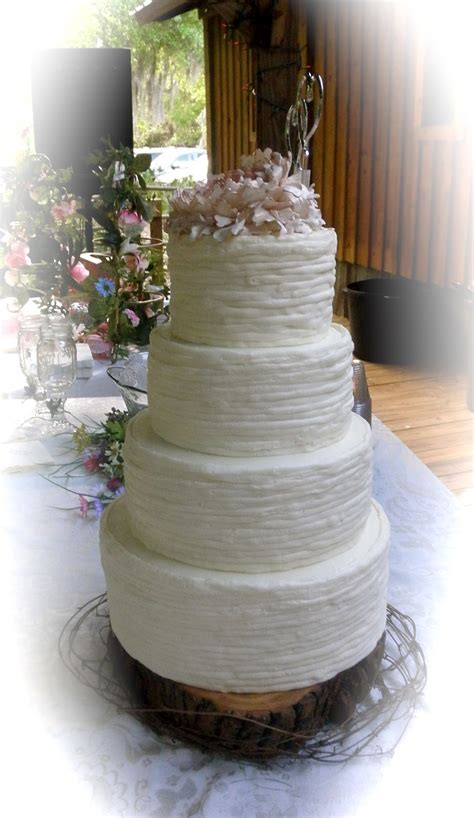 sweet t s cake design shabby chic peony rustic wedding cake