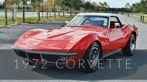 1972 C3 Corvette  Ultimate Guide (overview, Specs, Vin