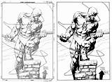 Daredevil Finch Coloring Pages Dave David Marvel Pencils Google Comic Deviantart Drawings Drawing Pencil Books Comics Sonja Inks Popular Coloringhome sketch template