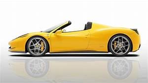 Side view of a yellow Ferrari 458 wallpapers and images ...