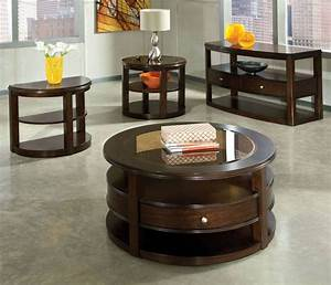 Coffee table black glass and wood coffee table dark cherry for Cherry wood glass coffee table