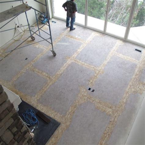 sand subfloor seams prior  install hoffmann hardwood