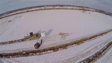 field drainage tile installation in ohio cy schweiterman