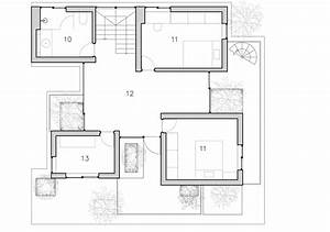 Tree, Branches, Poke, Through, Floors, Of, Stacked, Planters, House