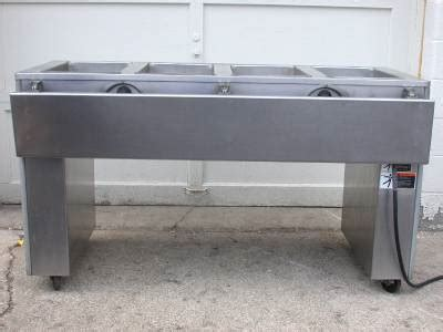 Useco 4 Well Stainless Steel Standex 30023a Steam Table