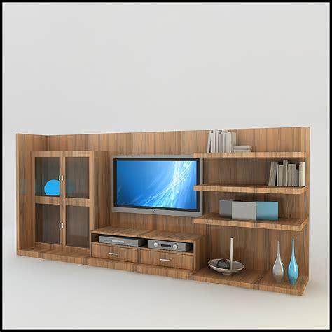 tv wall unit modern design tv wall unit modern design x 18 3d models cgtrader com