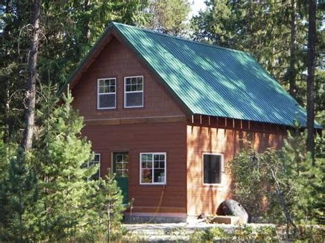 small A frame cabins with lofts Onebuilt version of the