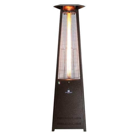 italia triangular  ft commercial flame patio heater