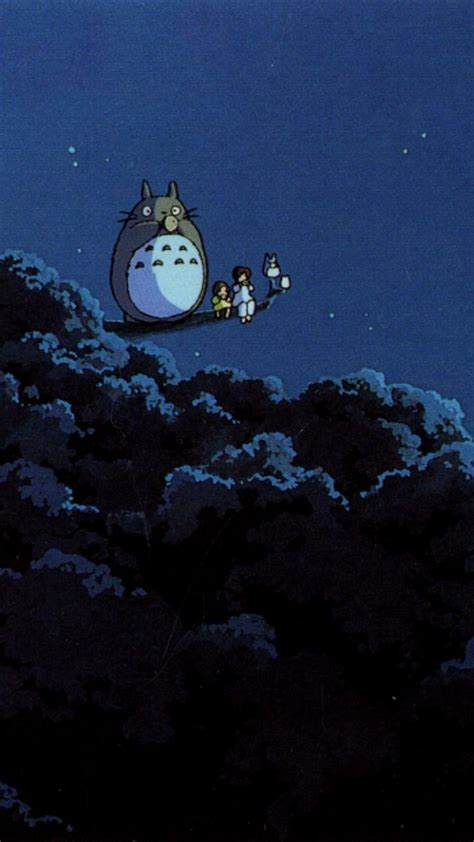 totoro  neighbour studio ghibli wallpaper