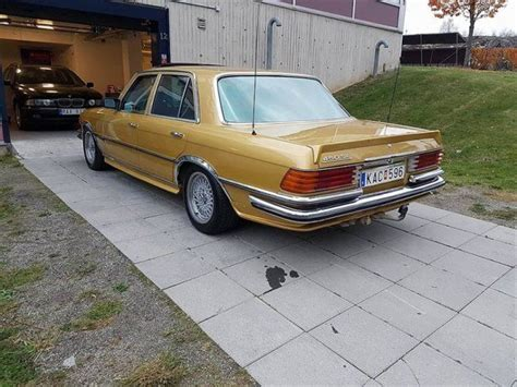 The w116 model is a sedan car manufactured by mercedes benz, sold new from year 1972 until 1980, and available after that as a used car. Såld Mercedes 450 SE / 4,5L V8 / A., begagnad 1970, 4.500 mil i Stockholm