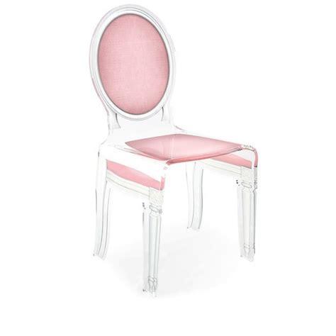 chaise medaillon transparente fauteuil medaillon transparent