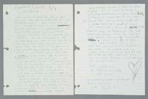 kurt cobain letter kurt cobain letter to 1991 christie s 22673 | 2004 NYR 01438 0332 000()