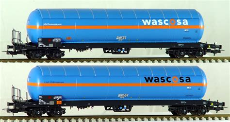 set of two touch ls ls models set of 2 pressurized gas tank cars wascosa