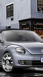 Wallpaper Volkswagen Beetle, Cabriolet, Concept, grey