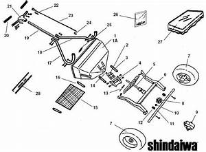Shindaiwa Rs60 Spreader Parts Diagram Sn All
