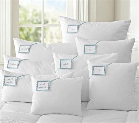 18x18 pillow insert luxury loft alternative pillows pottery barn