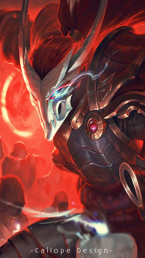 blood moon yasuo wallpaper  images