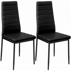 2x chaise de salle a manger ensemble salon design salon With salle À manger contemporaineavec chaise noir salon