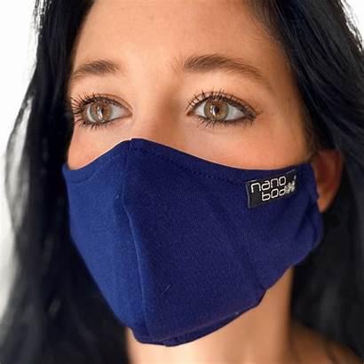 Mask Face Ag Nano Tive Clean Med
