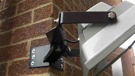 corner wall light bracket heavy duty corner mounted floodlight bracket for 30 50
