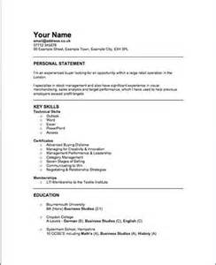 fashion buyer resume sles retail buyer resume objective