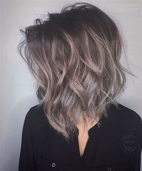 To Brown Turned Grey by Best 25 Ashy Brown Hair Ideas On Ashy Brown