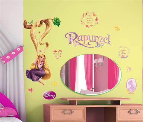 Kinderzimmer Deko Wandsticker by 169 Disney Wandtattoos Kinderzimmer Aufkleber Rapunzel