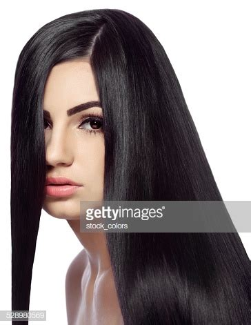How To Shiny Black Hair by Black Hair Stock Photos And Pictures Getty Images