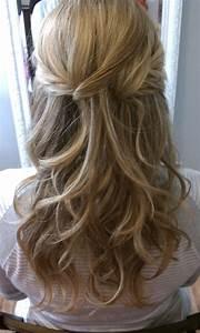 Bridal Hair Half up Half Down | Hair & Makeup