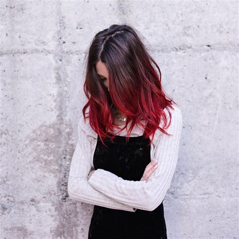 Instagram Good Hair In 2019 Balayage Hair Red Ombre