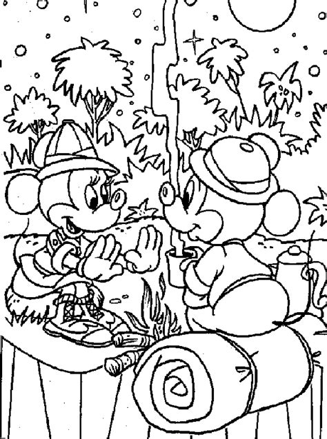 camping color pages coloring home 673 | rcLnx8Xc8