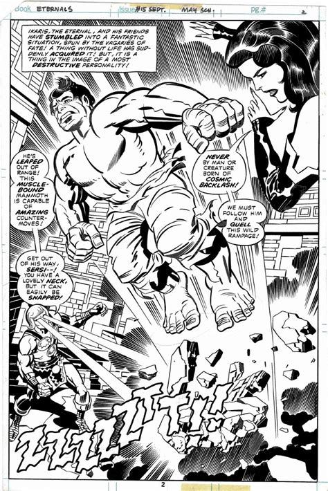 Eternals 15 - Kirby pg 2 splash, in Cort Lane's A - Silver ...