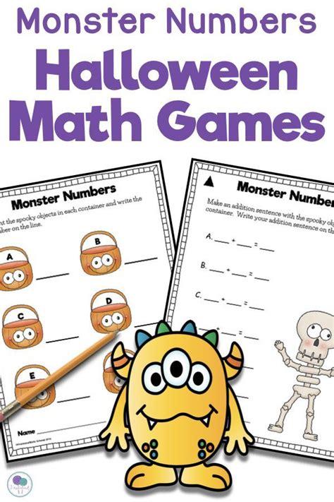 halloween math games  images halloween math