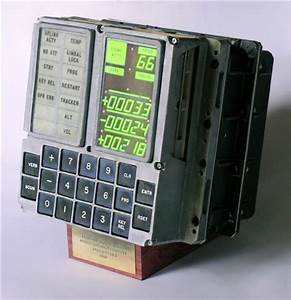 DSKY (DISPLAY KEYBOARD APOLLO GUIDANCE COMPUTER (AGC) FROM ...