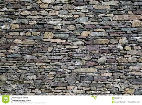 wall of mixed slate stock photo image 61907712