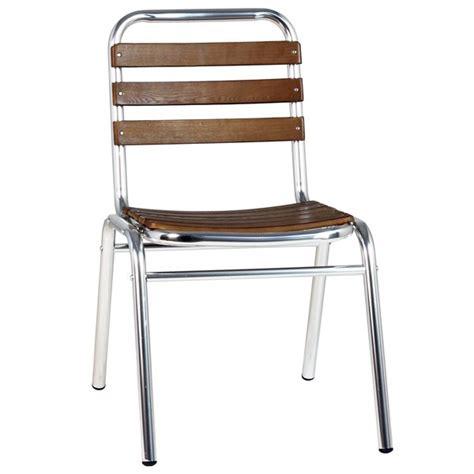 chaise de terrasse chaise metal exterieur terrasse bistrot table de lit