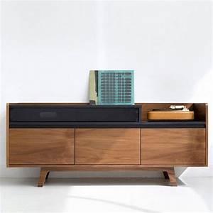 Meuble Hifi Bois : best 25 meuble hifi design ideas on pinterest ~ Voncanada.com Idées de Décoration