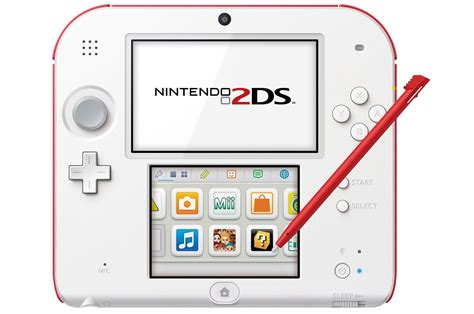 Nintendo 2ds Console by Consoles 2ds Nintendo 2ds Blanc 3806677 Darty