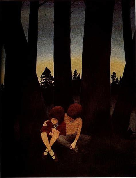 hansel  gretel anthony browne fairy tales illustration