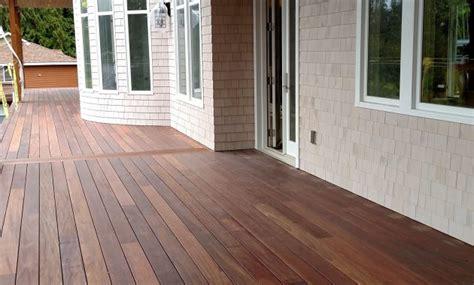 ipe deck stain colors decks ideas