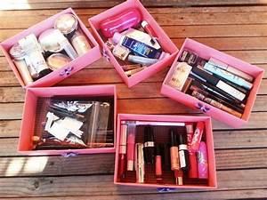 Boite Rangement Pas Cher : rangement maquillage id es faciles r aliser et petit prix ~ Teatrodelosmanantiales.com Idées de Décoration