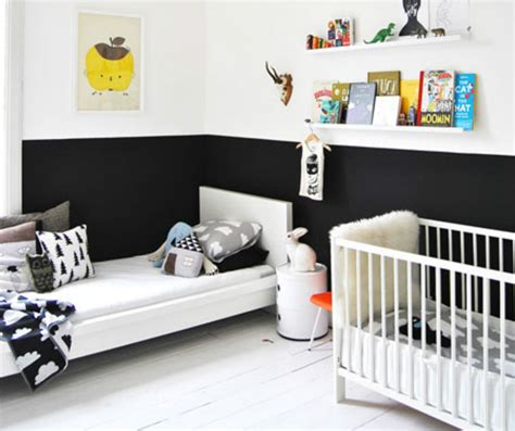 white nursery noir et blanc s 39 invitent dans la chambre d 39 enfant joli tipi